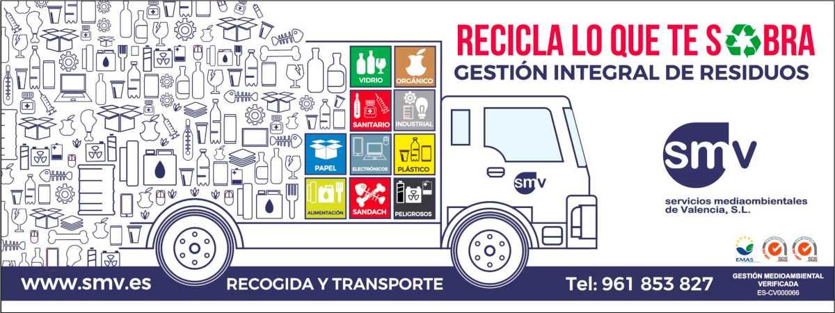 Cartel campaña de sensibilización sobre el tratamiento de residuos
